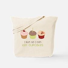 Eat Cupcakes Tote Bag