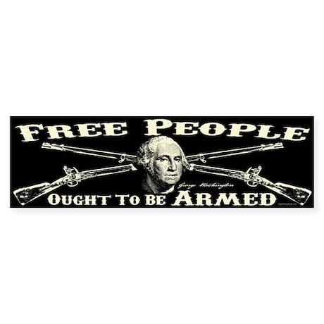 A Free People Sticker (Bumper)