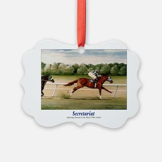 Secretariat Ornament