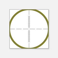 "Army Scope Square Sticker 3"" x 3"""