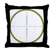 Army Scope Throw Pillow