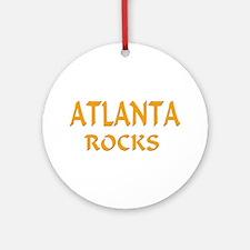 Atlanta Rocks Ornament (Round)