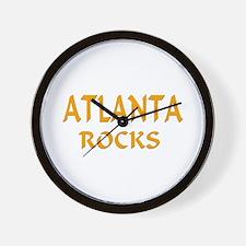 Atlanta Rocks Wall Clock