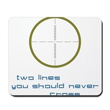 Two Lines Mousepad