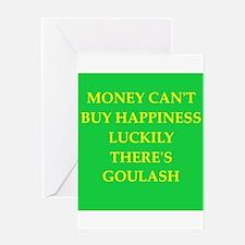 goulash Greeting Card
