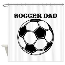 Soccer Dad Shower Curtain