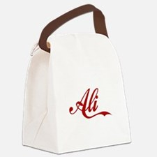 Ali name Canvas Lunch Bag
