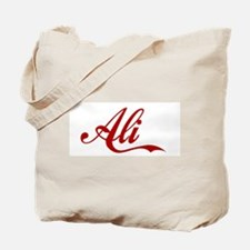 Ali name Tote Bag