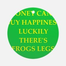 frogs leg Ornament (Round)