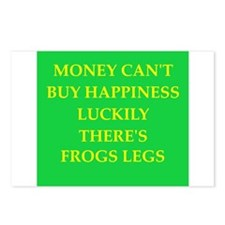 frogs leg Postcards (Package of 8)