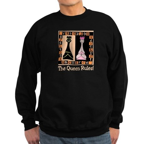 Queen Rules Sweatshirt (dark)
