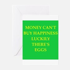eggs Greeting Cards (Pk of 10)