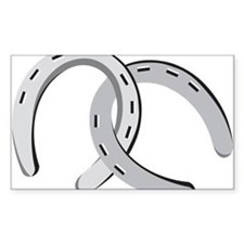 Horseshoes Decal
