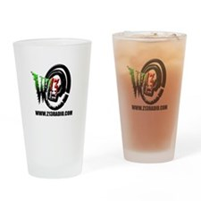 WZ13 Radio Logo Drinking Glass
