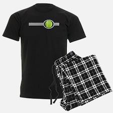 Three Stripes Tennis Ball Pajamas