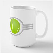 Three Stripes Tennis Ball Large Mug