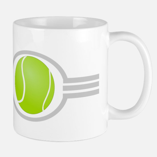 Three Stripes Tennis Ball Mug
