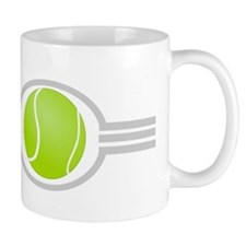 Three Stripes Tennis Ball Mug