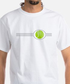 Three Stripes Tennis Ball Shirt