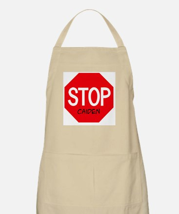 Stop Caiden BBQ Apron