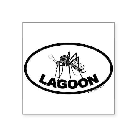 Mosquito Lagoon Euro Style Oval Sticker