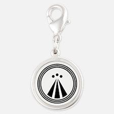 Druid Design Silver Round Charm