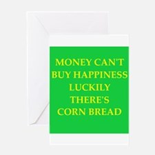 CORN bread Greeting Card