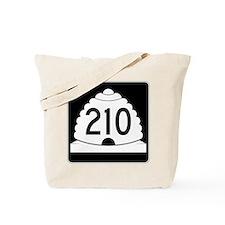 Powder Highway - Utah 210 Alta Snowbird Tote Bag