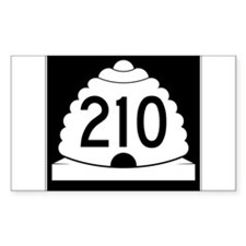 Powder Highway - Utah 210 Alta Snowbird Decal
