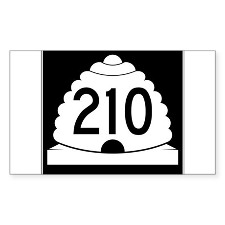 Powder Highway - Utah 210 Alta Snowbird Sticker (R