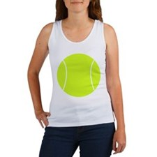 Neon Tennis Ball Women's Tank Top
