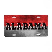 Alabama Split Color Aluminum License Plate