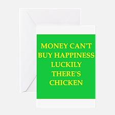 chicken Greeting Card