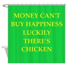 chicken Shower Curtain