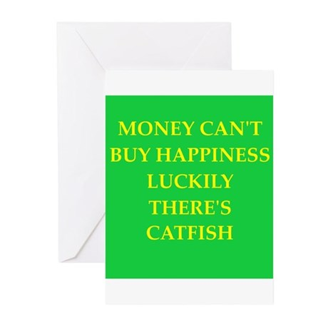 catfish Greeting Cards (Pk of 20)