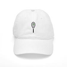 Tennis Racket With Ball Cap