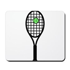 Tennis Racket With Ball Mousepad