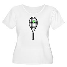 Tennis Racket With Ball T-Shirt