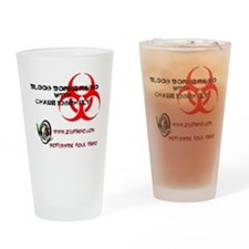 Blood Borne Radio Drinking Glass