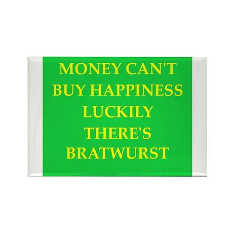 bratwurst Rectangle Magnet