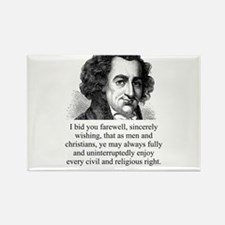 I Bid You Farewell - Thomas Paine Magnets