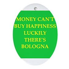bologna Ornament (Oval)