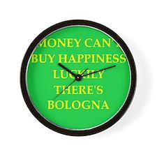 bologna Wall Clock