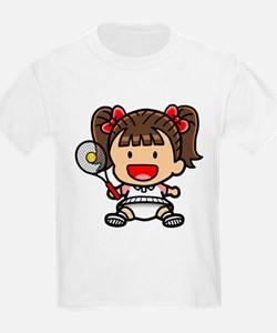 Baby Girl Tennis Player T-Shirt