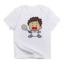 Baby Boy Tennis Player Infant T-Shirt