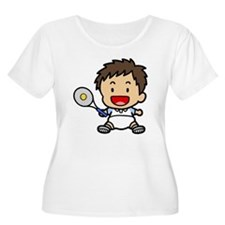 Baby Boy Tennis Player T-Shirt