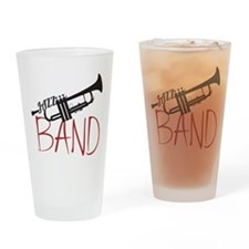 Jazz Band Drinking Glass