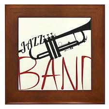 Jazz Band Framed Tile