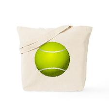 Fuzzy Tennis Ball Tote Bag