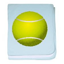 Fuzzy Tennis Ball baby blanket